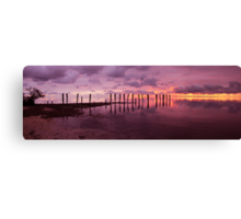 First Light Pano Canvas Print