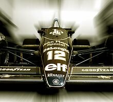 Ayrton Senna's - Lotus F1 by Tom Clancy