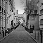 black and white Paris  by Laura  Carey