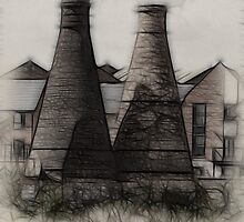 Fractal Kilns by David J Knight