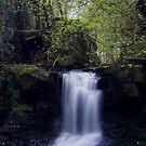 Downhill Waterfall by Jonny Andrews