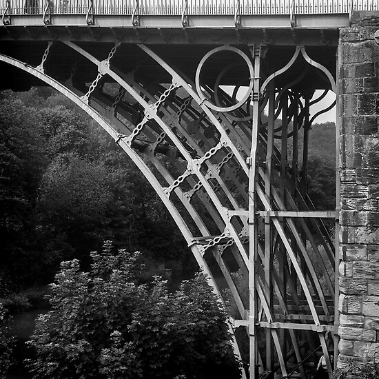 Ironbridge detail by Chas Bedford