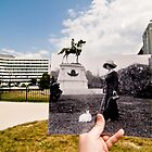 Looking Into the Past: Thomas Circle, Washington, DC by Jason Powell