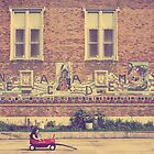 just a girl and her wagon by Angel Warda