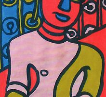 Colourful Buddha 1 by meemu