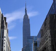 A View of the Empire State Building by Patricia127