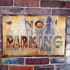 No Parking by BlackHairMoe