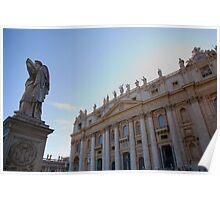 Saint Peters Basilica, Vatican City, Rome, Italy Poster