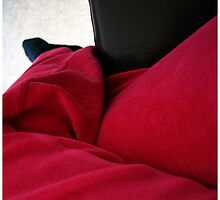 I was seating on a sofa by AgaSilva
