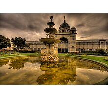 Victorian Majesty , Melbourne -Royal Exhibition Building & Carlton Gardens - The HDR Experience Photographic Print