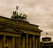 Brandenburg Gate, Berlin Germany by Stacie Forest
