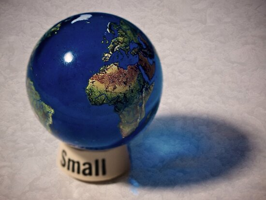 It really is a small world, after all by Eric Seale