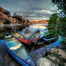 Rogue Canoes by Bob Larson