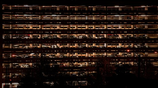 Car Park at Night by photograham