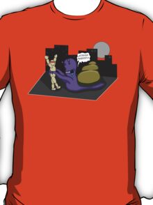 The adventures of Bucky-bookoo: Part 2 T-Shirt