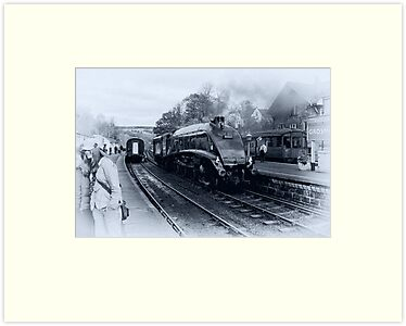 A4 Steam Train - Grosmont by Trevor Kersley