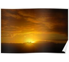 Sunrise, Port Augusta , South Australia Poster