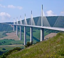 The Millau Viaduct - France by Nala