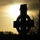 Celtic Cross at Sunset by eithnemythen