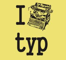 I love typ by Peter Simpson