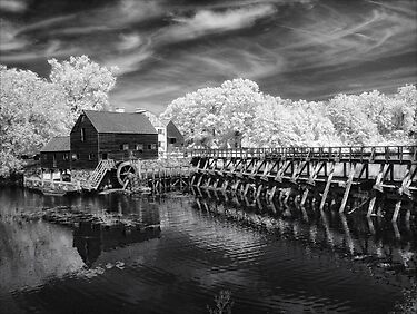 Philipsburg Mill by Claudia Kuhn