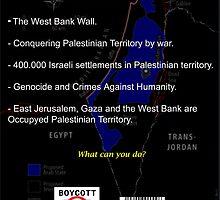 Boycott Israel I by Poderiu ^