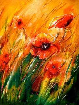 Flowers...Poppy Fields by © Janis Zroback