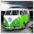 VW Splitty Camper by ©The Creative Minds