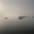 Misty Moorings by oopyphotography
