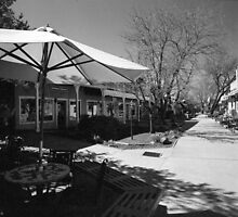 John Dunn Plaza, Taos by Gordon Lukesh