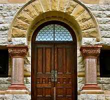 Courthouse doors by Stacie Forest