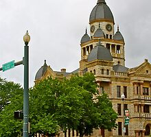 Courthouse and Locust by Stacie Forest