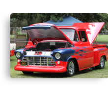 1957 Chevy Pickup - Classic Cruiser Canvas Print