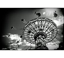 'Swinger' ride - Kalgoorlie-Boulder Community Fair Photographic Print