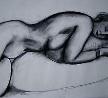 Reclining Nude  by Bill Proctor