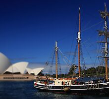 On the harbour.. by Gavin Craig