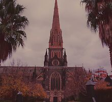 St Patricks Cathedral by Melanie Conroy