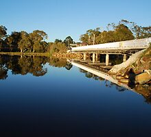 Lake Cathie Bridge by Graham Mewburn