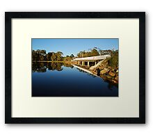 Lake Cathie Bridge Framed Print