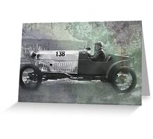 1921 Amilcar - Fully worked Greeting Card