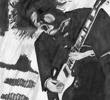 Angus Young by Nigel Bangert