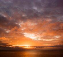 Flaming sky by CJTill
