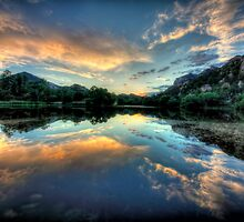 Basin Sunset by Bob Larson
