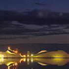 Dampier Salt  Port Hedland, Western Australia by Ben Mattner