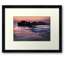 Point Roadknight,Great Ocean Road. Framed Print
