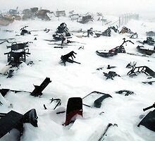 SKI-DOO GRAVEYARD by smilla