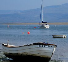Boats and the seashore by Photodx