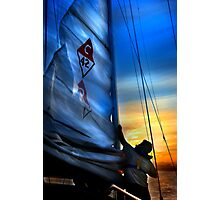 Set The Mast Down by: Linaji Photographic Print