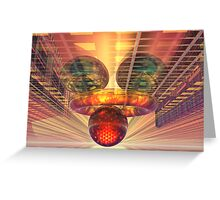 Alien technology Greeting Card