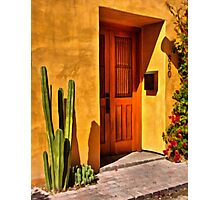 Strolling the Barrio Photographic Print